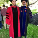 Celebrating our most recent PhD at Harvard's 367th Commencement