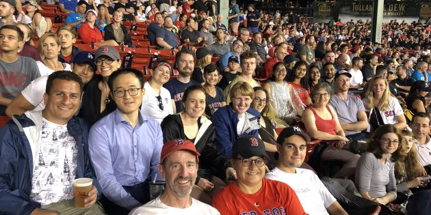The Doyle Group Cheers on the Red Sox